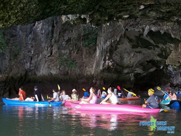 James Bond Island Canoe