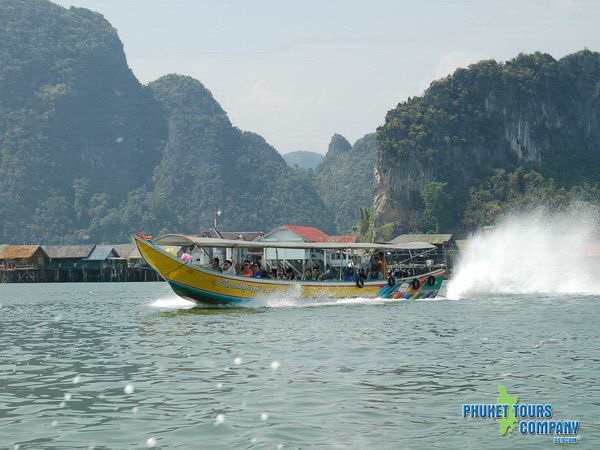 James Bond Island Longtail Boat
