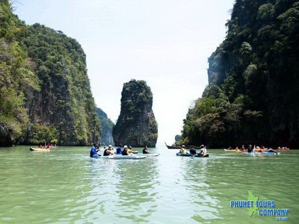 Phang Nga Bay by Sea Angel Cruise Canoeing