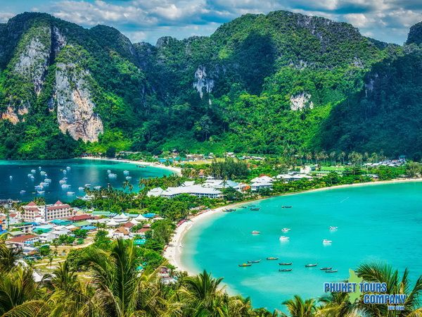 Phi Phi Island Khai Island with Phi Phi View Point Tour by Speed Boat