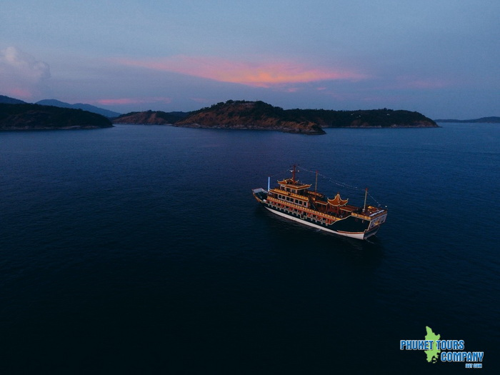 Phuket Dragon Boat Sunset Cruise